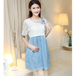 Đầm bầu công sở phong cách Hàn Quốc mặc 4- 9 tháng