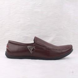 Giày mọi da nam Feragamo 01