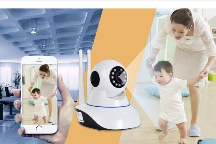 Camera HD Wireless IP quan sát và báo động Hola - xoay 360 độ 6