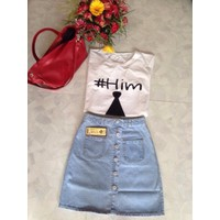 Váy nữ jean