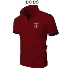 Áo thun nam thời trang Ferrari cao cấp - đỏ đô