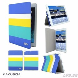Bao da iPad mini 1-2-3 hiệu Kaku mẫu Sọc 4 màu