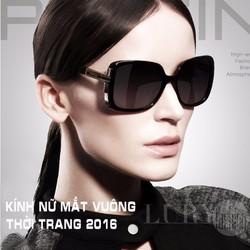 Kính nữ mắt vuông gọng bản vừa Hàn Quốc TK06