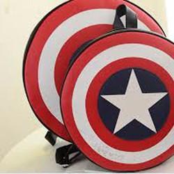 Túi Xách Cá Tính Captain America Big Size
