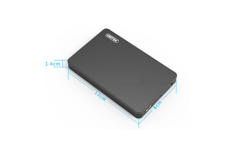 Hộp đựng Ổ cứng HDD Box 2.5 SATA chính hãng Unitek Y-3257 7