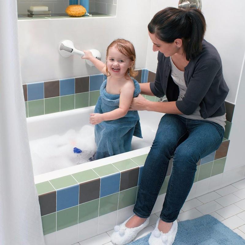 Tay vịn tường nhà tắm an toàn Moen Home Care nhập khẩu từ Mỹ. 2