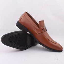 Giày mọi nam da bóng Timberland khóa trang trí