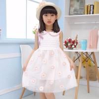 Đầm ren công chúa cho bé F006