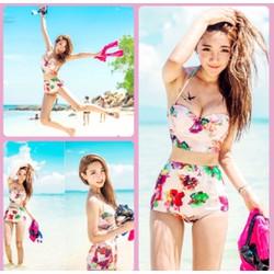 Set Bikini đi biển trẻ trung,sành điệu-DB041