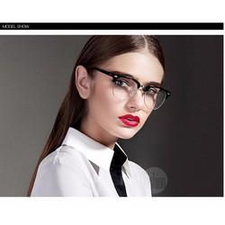 Kính thời trang unisex mắt kính trong hàn Quốc TK12