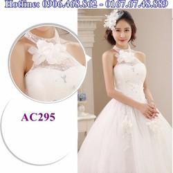Áo cưới có cổ AC295