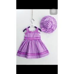 Váy kẻ ô