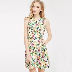 Váy voan hoa tiểu thư mùa hè