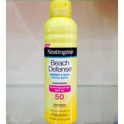XỊT CHỐNG NẮNG NEUTROGENA BEACH DEFENSE SUNSCREEN SPRAY BROAD