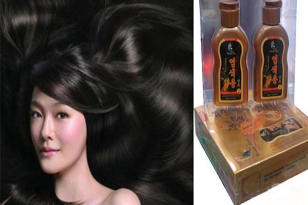 Bộ 2 chai dầu gội đen tóc Beauty Star Hàn Quốc 1