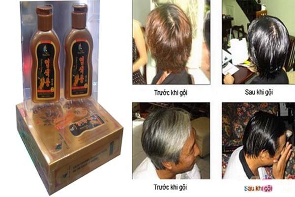 Bộ 2 chai dầu gội đen tóc Beauty Star Hàn Quốc 5