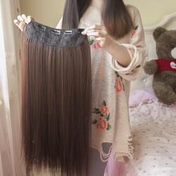 Tóc 5 kẹp thẳng siêu dày dài 65cm