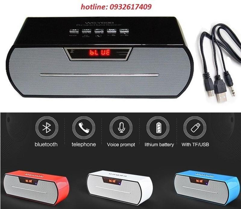 Loa Bluetooth WS-Y69B 1