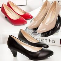 Giày búp bê nữ có gót đáng yêu - 169