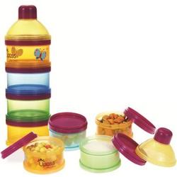 Hộp 4 ngăn đựng sữa thức ăn kèm nắp đậy không BPA Upass