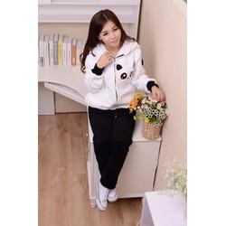 Áo khoác Panda - có đuôi - HK70