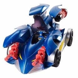 Xe đua mô hình 2 in 1 Mattel Transform Attack Batmobile