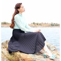 Chân váy maxi dài mềm mại xả hàng
