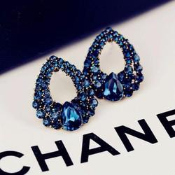 Khuyên tai nữ thời trang, phong cách sang trọng, mẫu Hàn Quốc mới