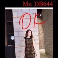 Đầm bầu công sở kiểu sát nách hoa văn xinh đẹp DB644