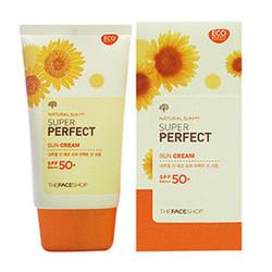 Kem chống nắng The Face Shop Natural Sun Eco Sun Cream SPF 50+ PA++