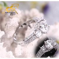 Nhẫn inox xoàn nữ đẹp giá rẻ - N058