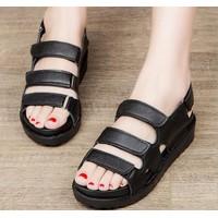 Giày sandal bánh mì 3 quai dán