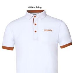Áo thun Nam thương hiệu Hermes  thời trang cao cấp – Trắng