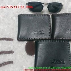 Ví nam da mềm cao cấp màu đen sang trọng VINACC83