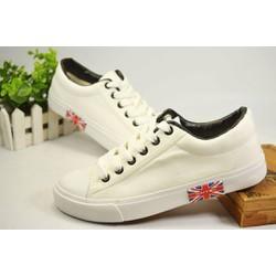 Giày nữ trắng phong cách Hàn quốc