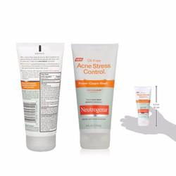 Kem rửa mặt trị mụn Neutrogena Oil-Free Acne Stress Control Power