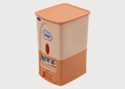 thùng gạo matsu duy tân 25kg 3