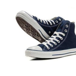 Giày Converse Classic xanh navy cổ cao nam nữ