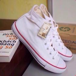 Giày Converse Classic trắng cổ cao nam nữ
