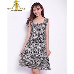 Đầm Hoa Mặc Nhà TH08343