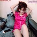 Bộ đồ short Pijama phi bóng viền ren dễ thương bBDTN486
