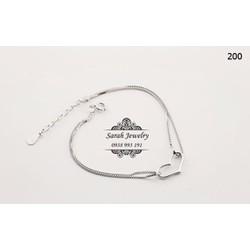 Lắc tay bạc 925 trái tim