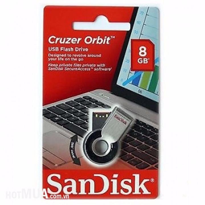USB Sandisk CZ58 8GB - Xoay 360 Độ - Thương Hiệu Của Mỹ 6