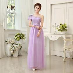 Đầm Dạ hội Dài Tím