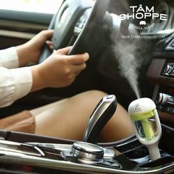 Máy khuếch tán tinh dầu ô tô phun khói dạng cắm điều thuốc loại 1