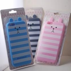 Ốp lưng iphone 5 thỏ sọc dễ thương