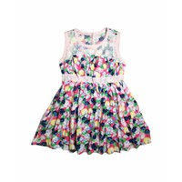Váy lanh hoa bé gái Thái Lan 04 - Lybishop