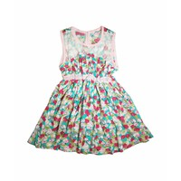 Váy lanh hoa bé gái Thái Lan 03 - Lybishop