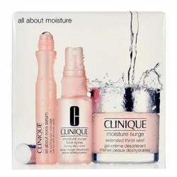 Bộ kem dưỡng ẩm chăm sóc mặt toàn diện CLINIQUE MOISTURE SURGE