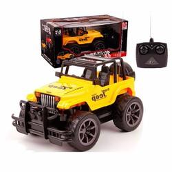 Xe jeep siêu xe địa hình điều khiển từ xa